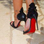 lady georgia's feet