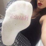 Coed Latina Feet