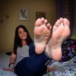 gym feet
