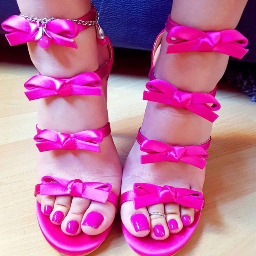 Gorgeous German Feet